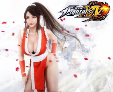 CosplayHana Bunny - COS Mai Shiranui (King of Fighters)