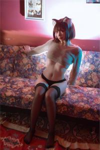 cosplay 二佐Nisa - 宠物少女 私房黑猫