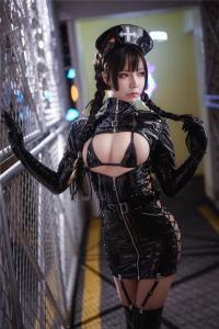cosplay 抱走莫子A 黑暗护士
