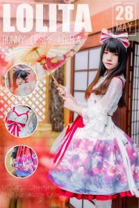 Cosplay 桜桃喵 - 和风lolita