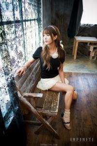 [网络收集] 2013.08.02 韩国MODEL许允美  光影下的美人