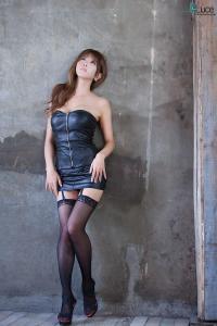 [网络收集] 韩国MODEL许允美  性感黑丝+皮衣